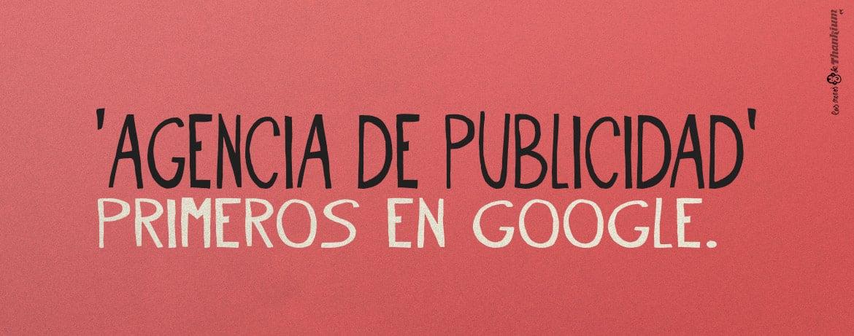 Primeros en google thankium agencia de publicidad for Agencia de publicidad