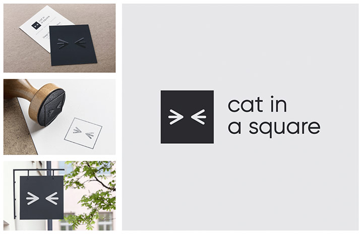 Cat In A Square