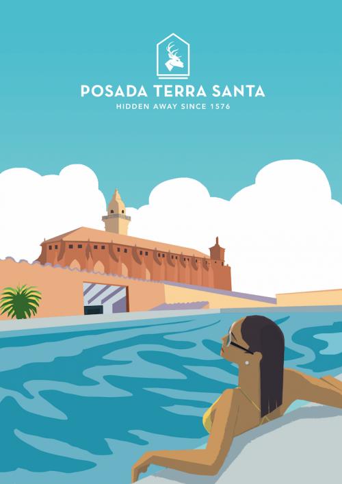 inbound-marketing-posada-terra-santa-ilustracion-hiddenpool-thankium-agencia-publicidad