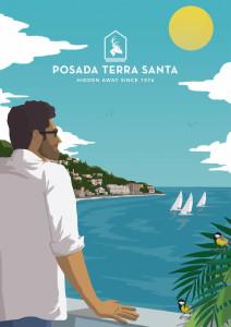 inbound-marketing-posada-terra-santa-ilustracion-regata-thankium-agencia-publicidad