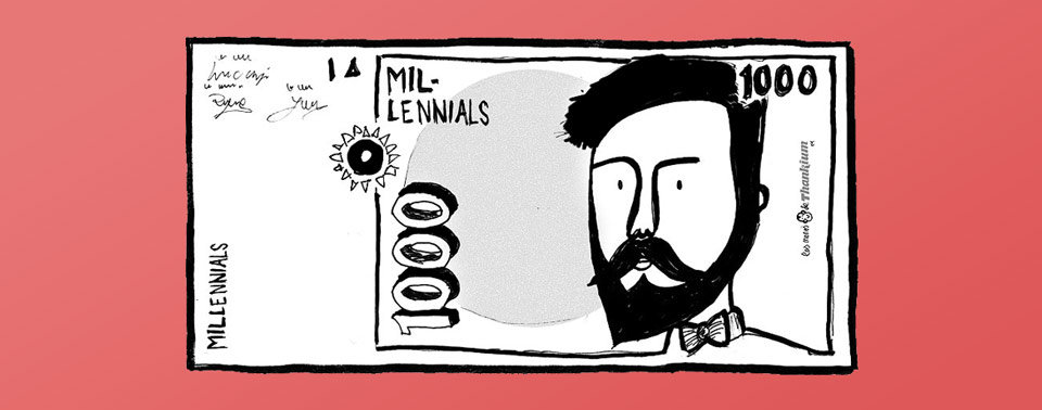 ilustracion generación elegida agencia de publicidad Thankium