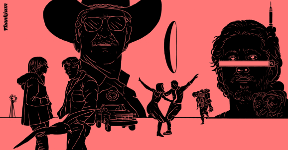Ilustración II Edición de los Thankiums a unas webs de película Thankium agencia de publicidad madrid