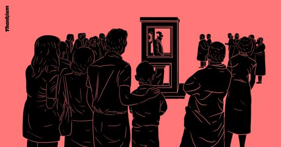 Ilustración desconectar está sobrevalorado Thankium agencia de publicidad madrid