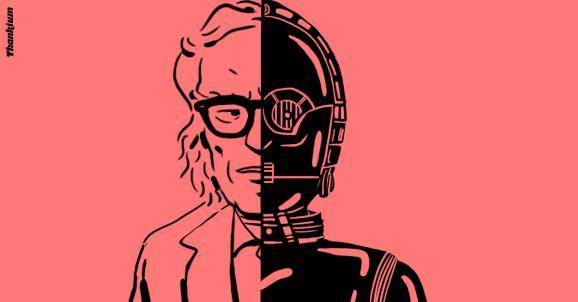 Ilustración Thankium robotización Isaac Asimov