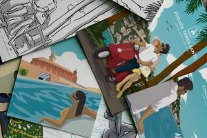 ilustraciones-posada-terra-santa-bocetos