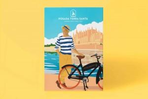 ilustraciones-posada-terra-santa-ilustracion-bicicleta-mallorca