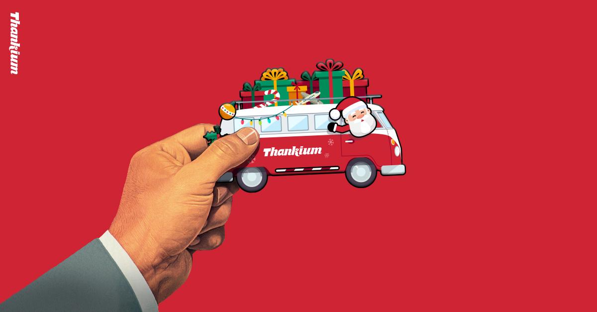 juego-navidad-thankium-agencia-de-publicidad-furgoneta